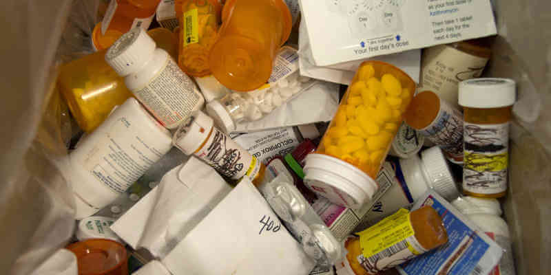 pine pollen and prescription medication