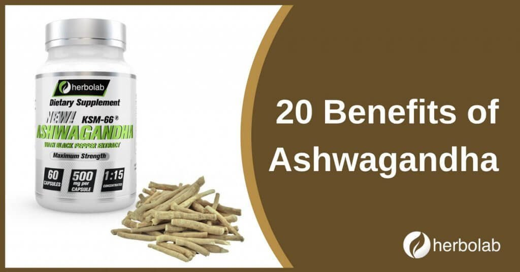 20 benefits of ashwagandha